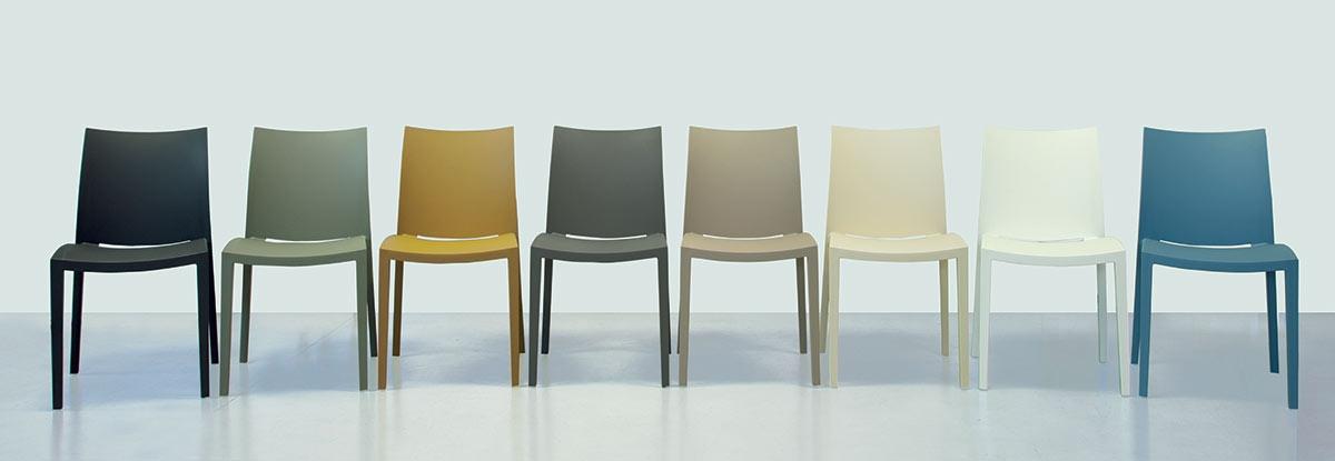 Caslini arredamenti marchi for Colico design sedia go