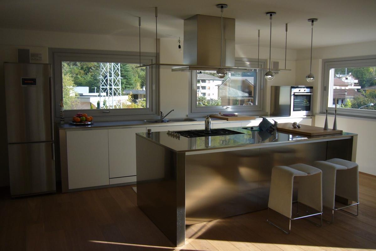 Cucina boffi prezzo configurazione isola in legno massello aprile